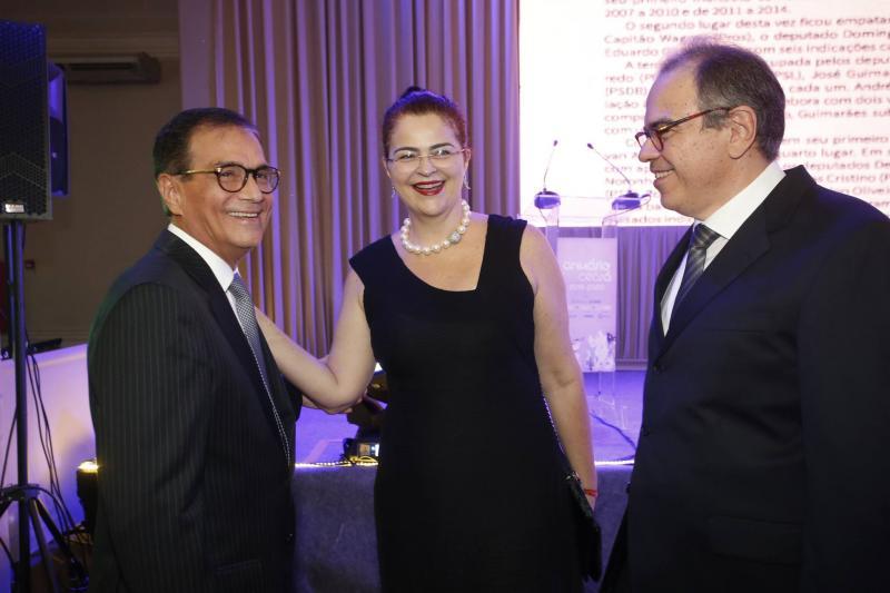 Beto Studart, Luciana e Democrito Dummar 2