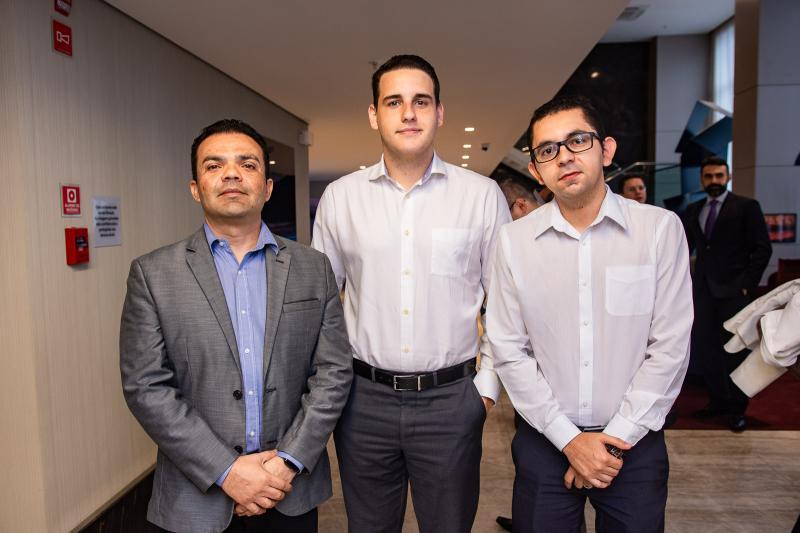 Romulo Lavour, Lucas Filgueiras e Jorge Sousa