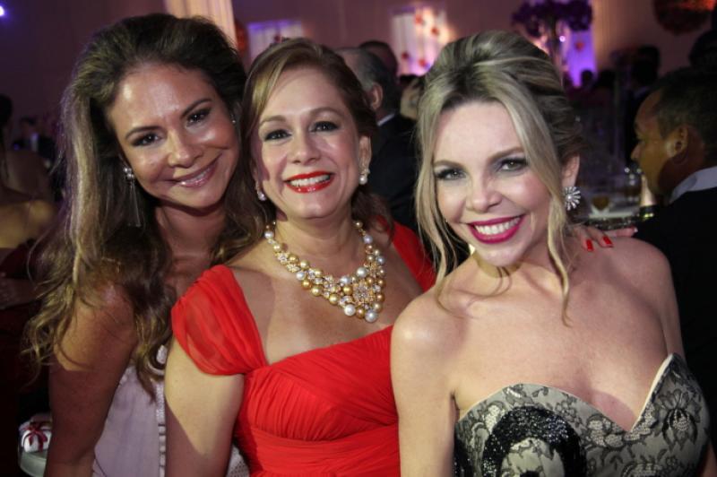 Milena Lima, Sarah Philomeno e Lilian Porto