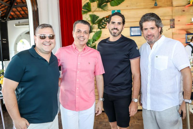 Henrique Amorin, Leo Dallolio,  Reimilson Cruz e Fernando Rodrigues
