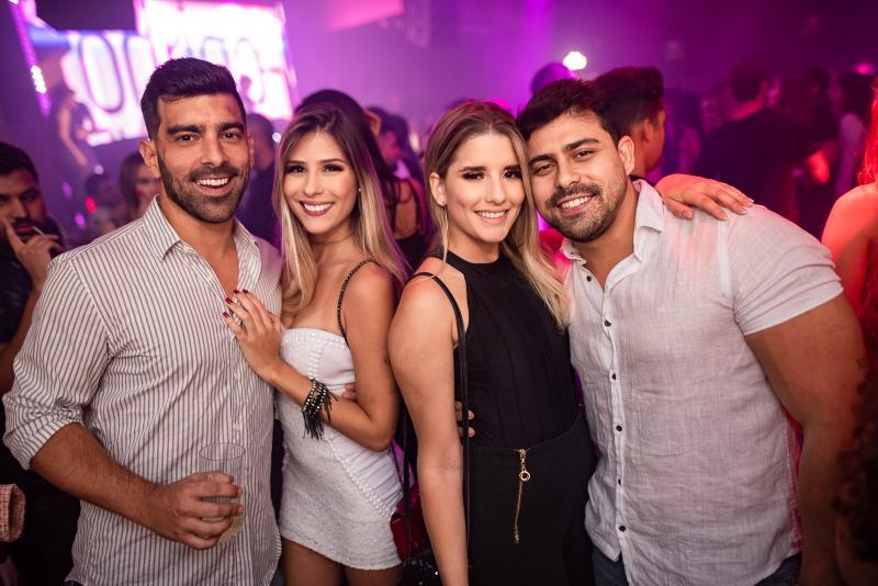 Rafael Sousa, Amanda Vasconcelos, Ana Julia Dantas e Andre Ribeiro