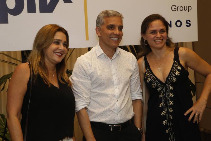 Adriana Hissa, Claudio Saboia e Ingue Ribeiro