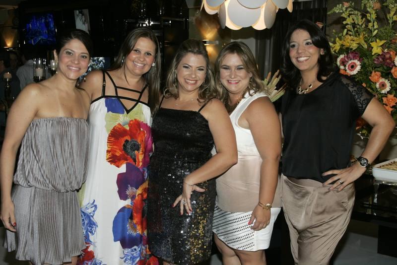 Daniele Fairbanks, Silvana Carvalho, Vanessa Queiros, Janaina Villar e Daniele Moraes