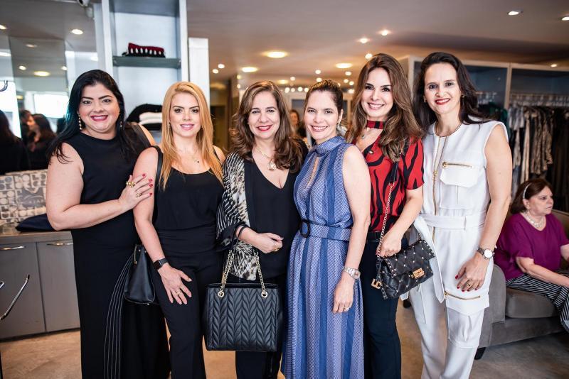 Viviane Almada, Leticia Studart, Martinha Assuncao, Cristiana Carneiro, Eveline Fujita e Adriana Miranda