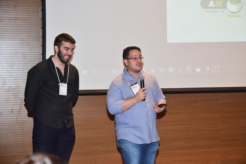 Igor Pinheiro e Marcos Vinicius Saraiva