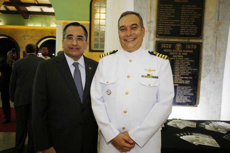 Jardson Cruz e Comandante Madson Cardoso