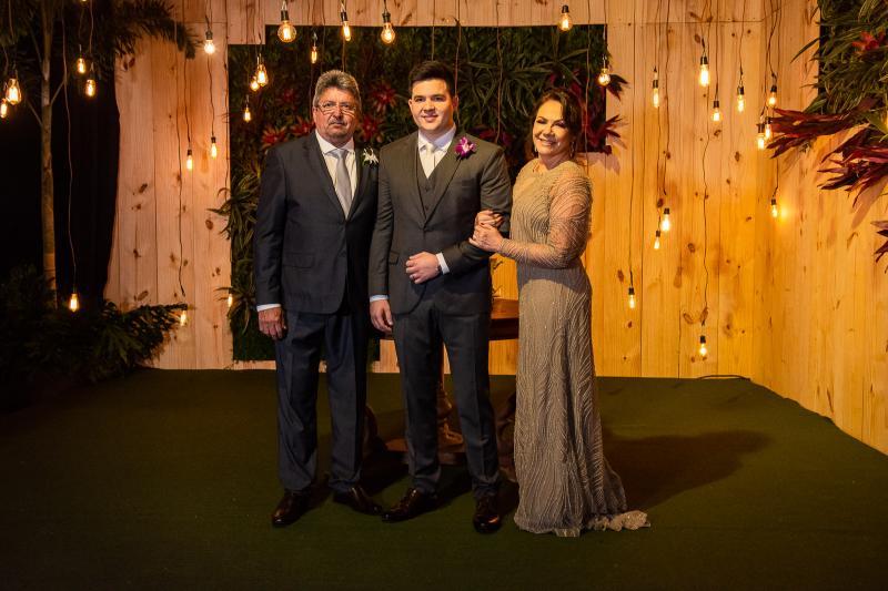 Paulo Sergio, Pedro e Fatima Vasconcelos