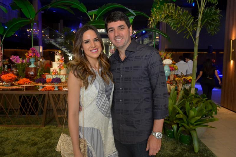 Karine Trindade e Rafael Torres de Melo