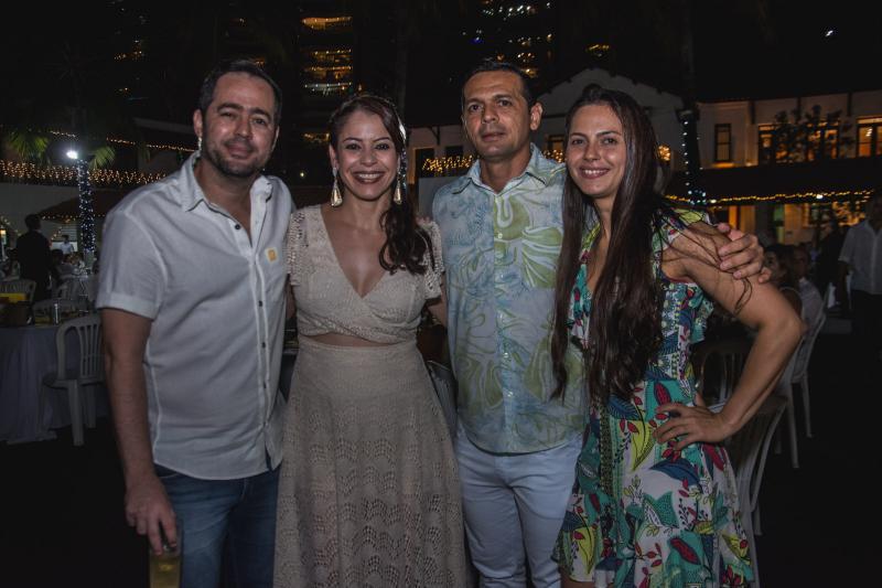Jeff Peixoto, Melissa Quesado, Mario Peixoto e Nubia Marina