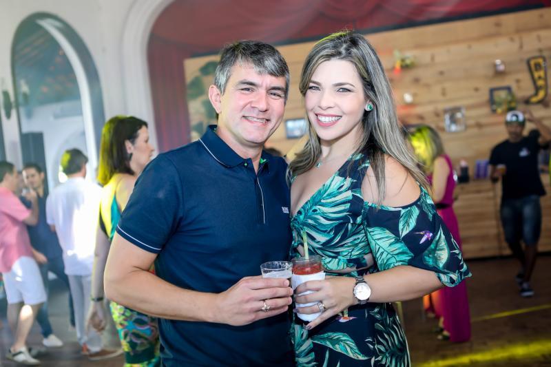 Joao Paulo e Jamile Holanda