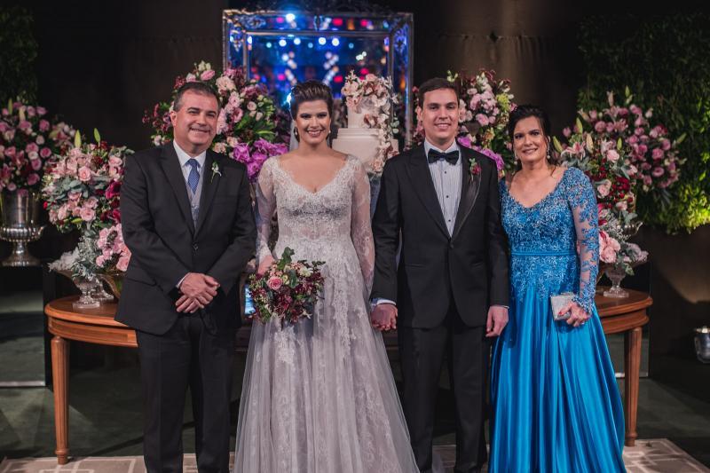 Ricardo Bezerra, Ana Maria Bezerra, Paulo Victor Eufrasio e Luciana Bezerra