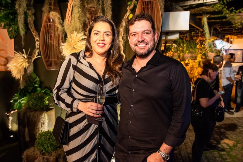 Fernanda Dantas e Daivson Guilherme