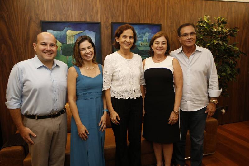 Roberto Claudio e Carol Bezerra, Izolda Cela, Ana Maria e Beto Studart