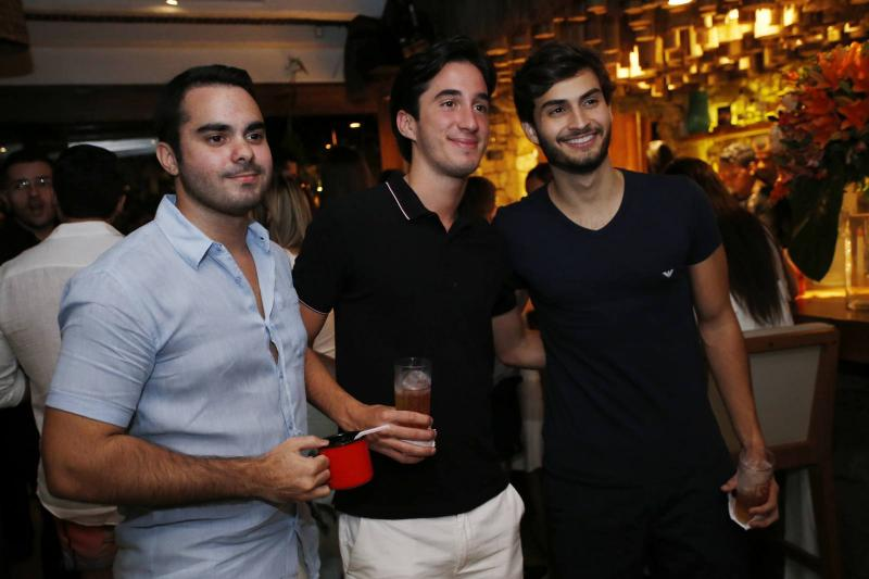 Gabriel Fontenele, Igor Cavalcante e Pedro Demetrius