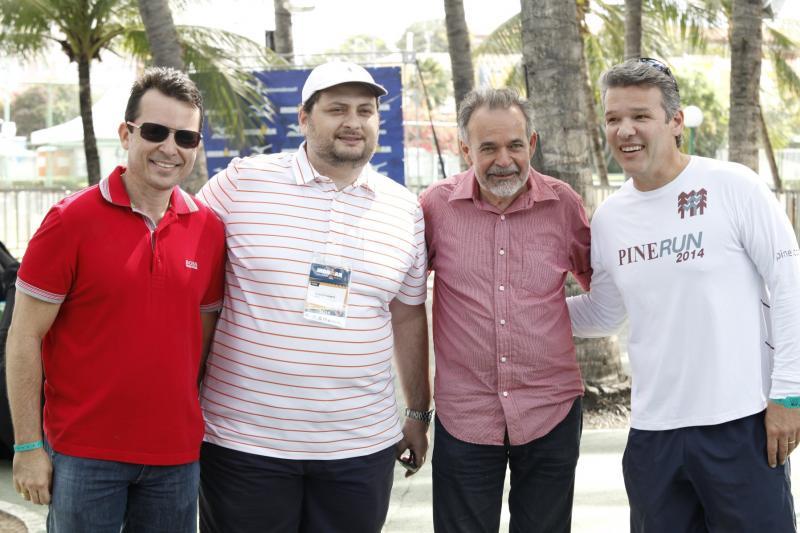 Luiz Faco, Reinaldo Salmito, Ferruccio Feitosa,Salmito Filh