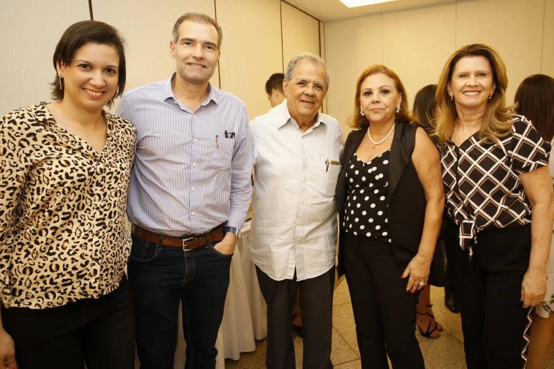 Patricia Telles, Luiz Eduardo Figueiredo, Maninho Brigido, Lia Macedo e Rossana Telles