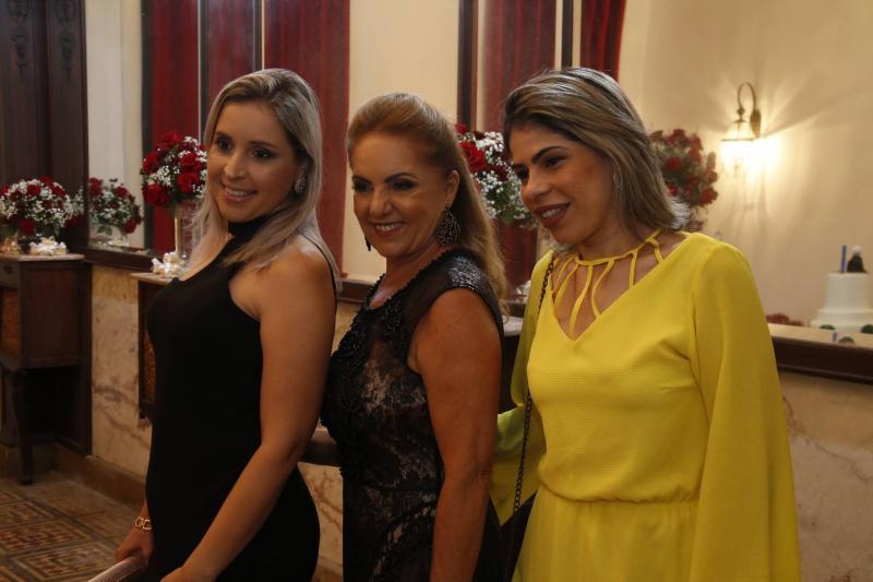 Luiza Moura, Conceicao Guimaraes e Marilia Gabriela