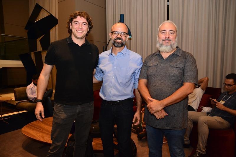Lucas Neves, Giovanni Andrade e Andre Emilio