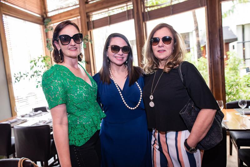 Carol Belchior, Claudia Pinheiro e Joria Araripe