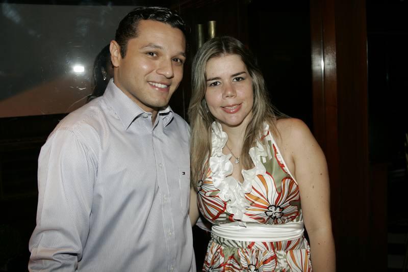 Leonardo Abreu e ana Raquel