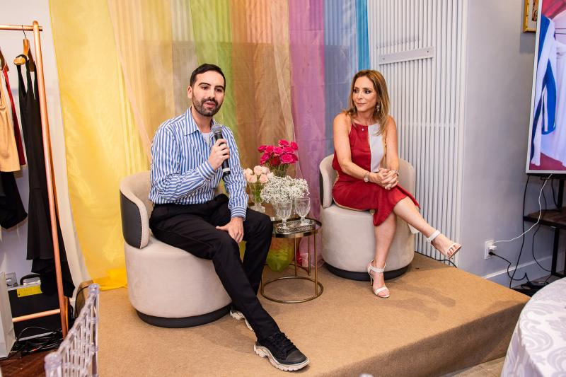 Andre Boffano e Ana Paula Daud