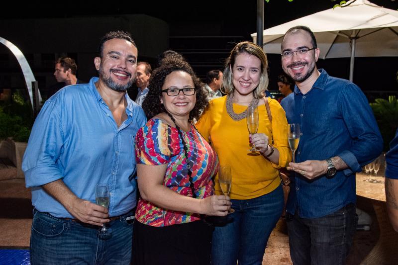 Helly Ellery, Ana Alice Nogueira, Izakeline Ribeiro e Italo Borges