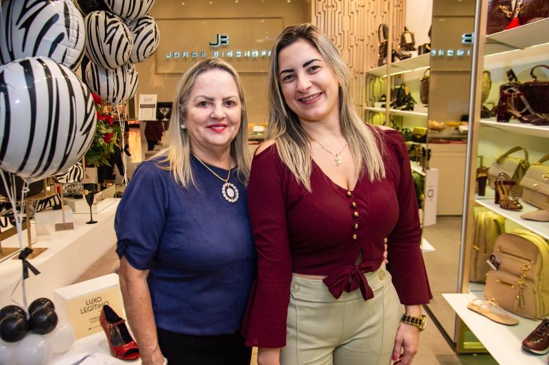 Norma Dantas e  Rayana Linhares