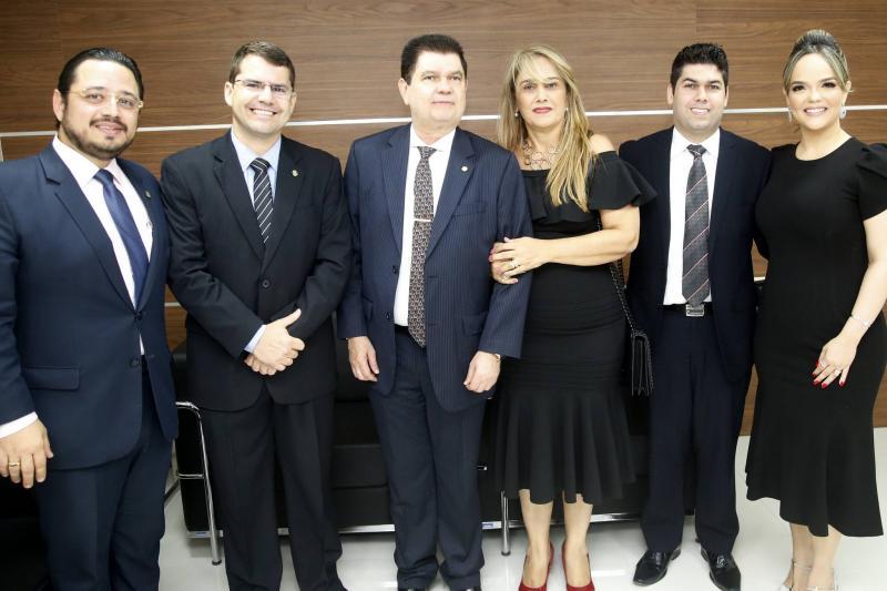 Ricardo Valente, Rogerio Pinheiro, Mauro Filho, Mariza, Mauro Neto e Keliane Benevides
