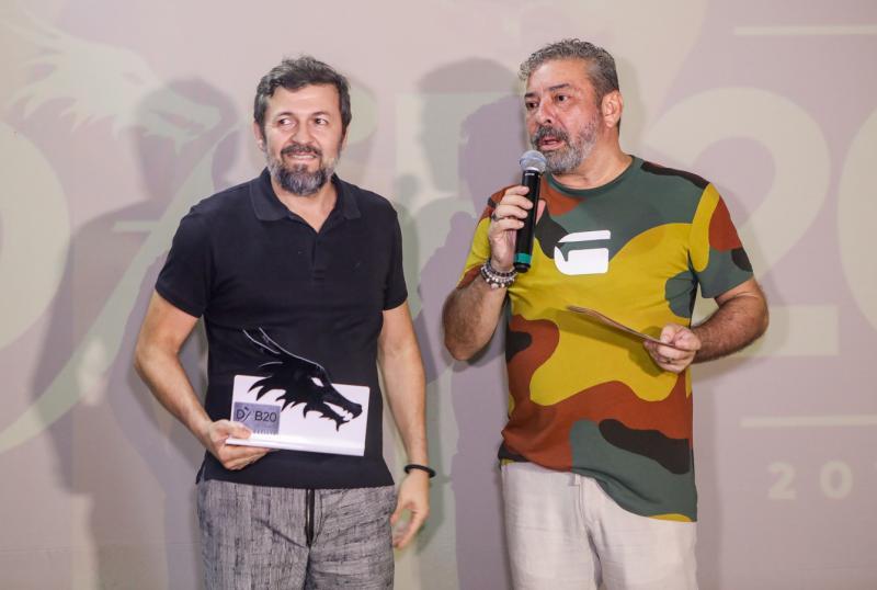 Elcio Batista e Claudio Silveira