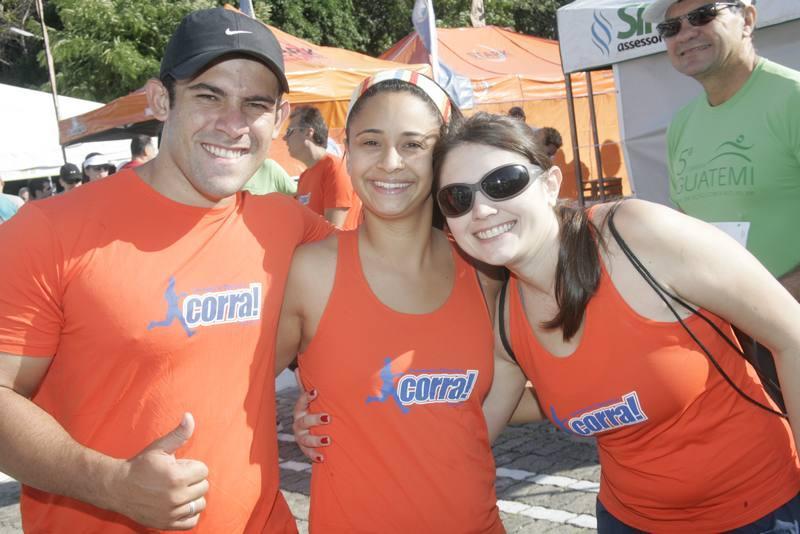 Leandro Augusto, Samia Guimaraes e Aline Fernandes