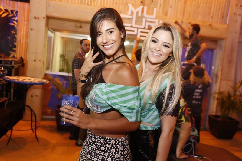 Luana Doca e Risalva Mendonca