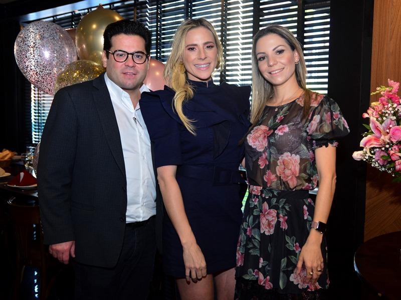 Edmilson Pinheiro, Martinha Freire e Yuska Castelo Branco
