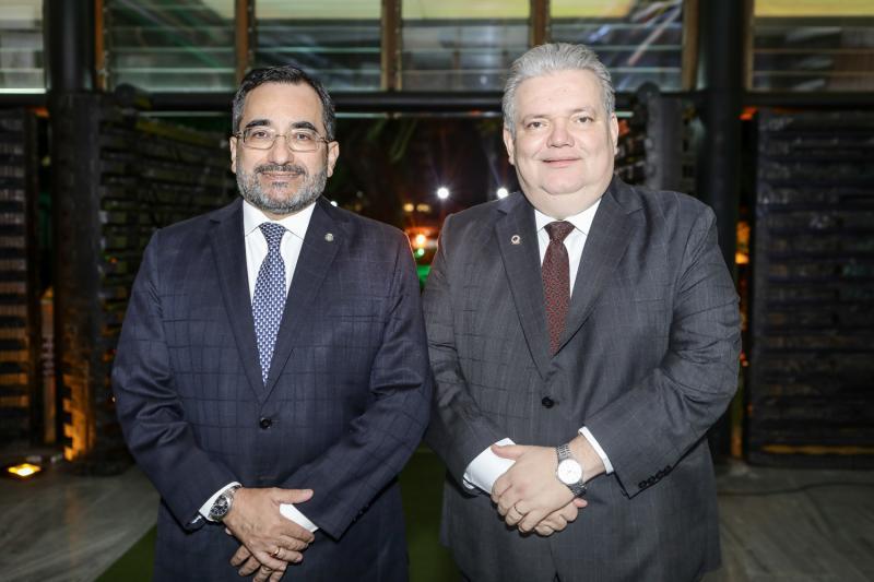 Jardson Cruz e Jorge Medeiros
