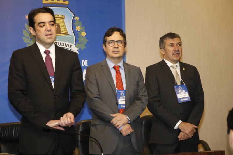 Bruno Dantas, Edilberto Pontes e Antonio Henrique