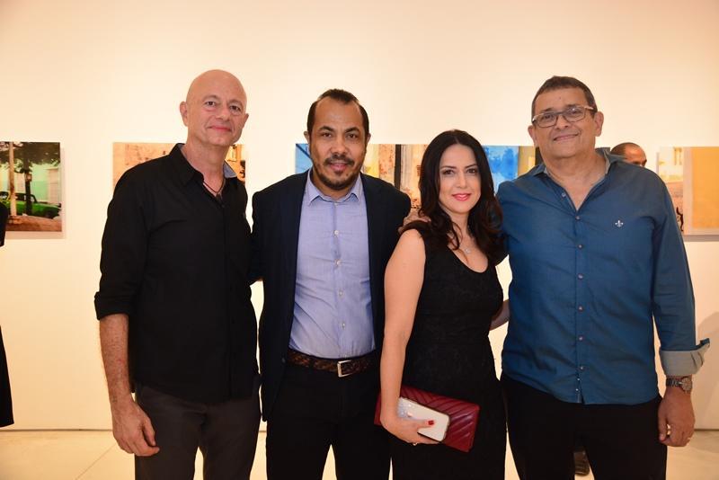 Demetrio Jereissati, Antonio Almeida, Michele Uchoas e Jose Guedes