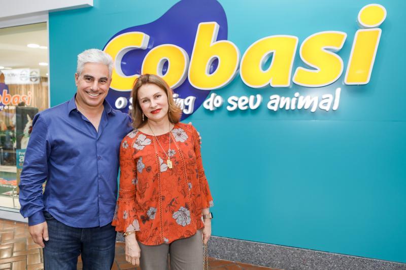 Ricardo Nassar e Renata Jereissati