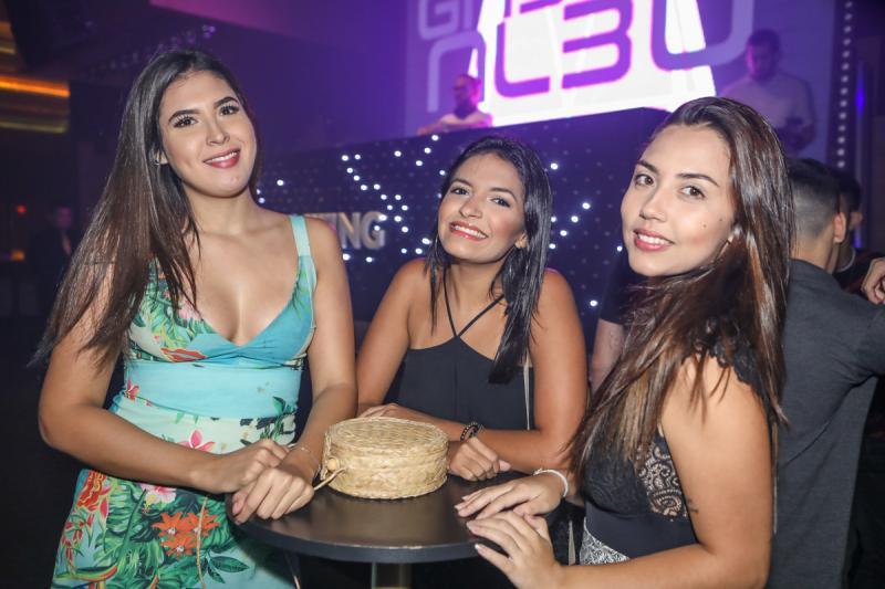 Mariana Maciel, Dirlene Assunçao e Vitoria Cruz