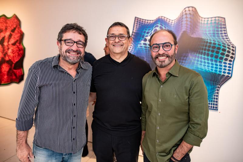 Mario Wilson, Jose Guedes e Marcus Novais