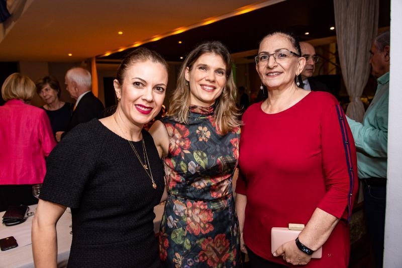 Manoela Brandao, Zsofia Sales e Sheila Sztutman