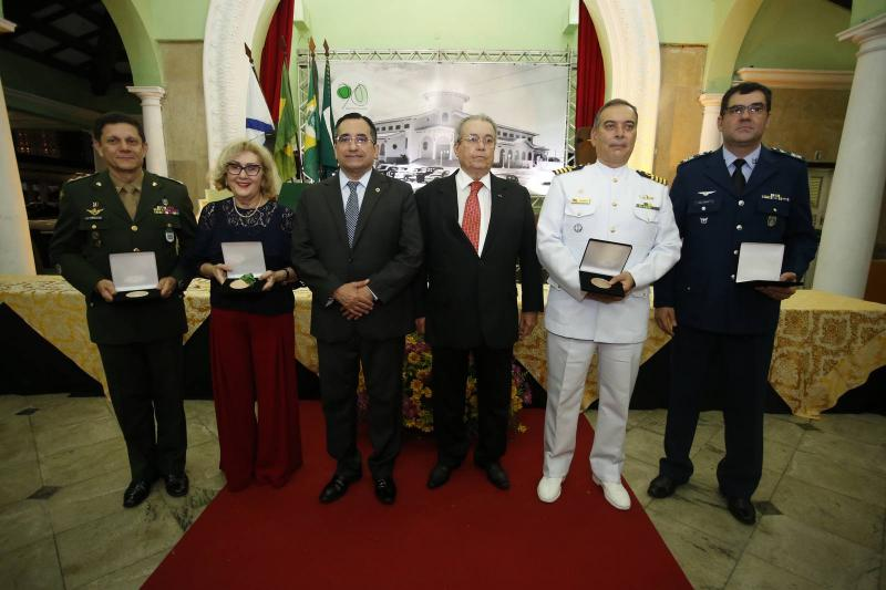 Coronel Jose Cordeiro, Socorro Franca, Jardson Cruz, Meton Cesar de Vasconcelos, Comandante Madson Cardoso e Coronel Alex Pereira 2
