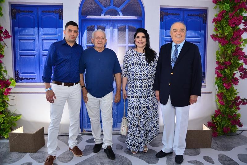 Dennys Stevens, Raimundo Batista, Jose Benevides e Sellene Camara