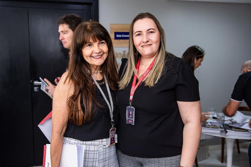 Geania Gomes e Silvia Cavalcante