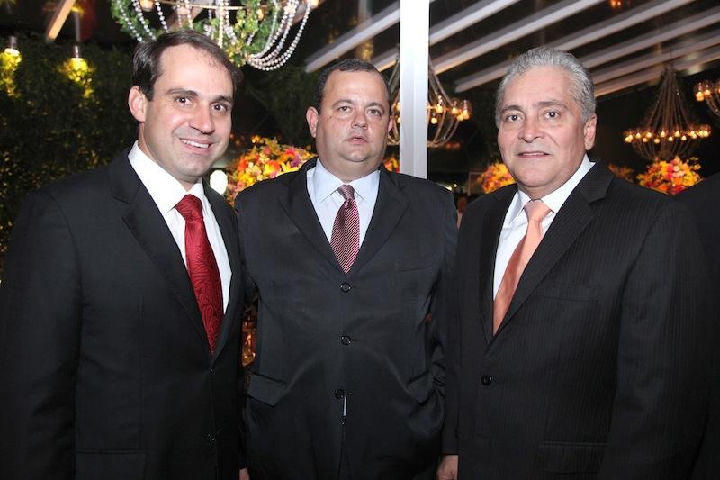 Salmito Filho, Moacir Sa e Luiz Pontes