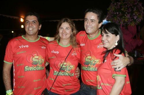 Marcelo Medeiros, Alba Soares, Lorival e Adima Oliveira
