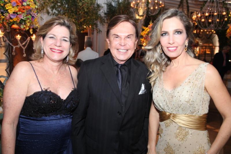 Stella Rolim, Lázaro Medeiros e Cristina Rola