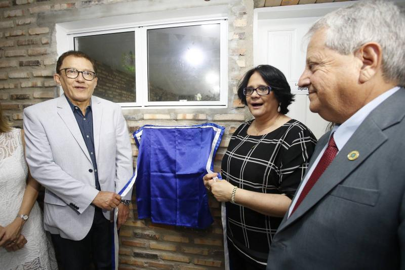 Elpidio Nogueira, Damares Alves e Antonio Fernandes