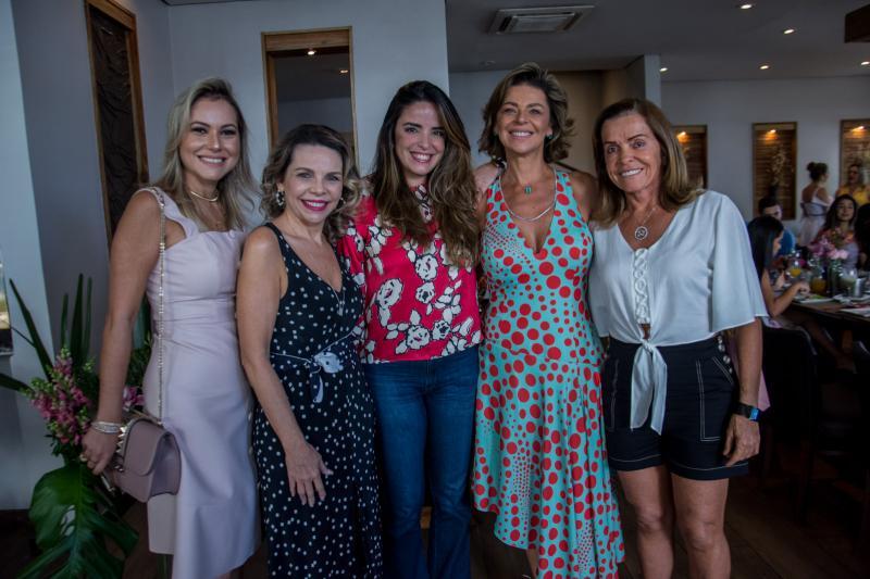 Talyzie Mihaliuc, Lilian Porto, Hedla Lopes, Ana Cristina Wolf e Hedla Lopes