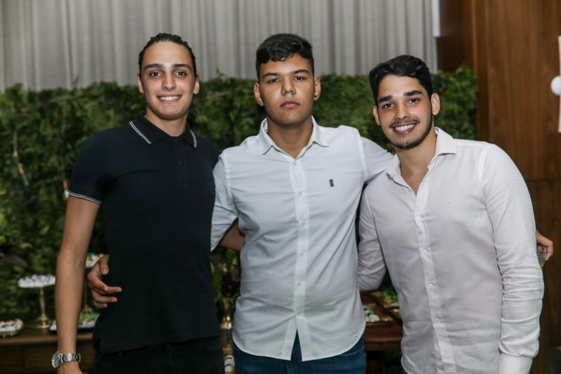 Joao Padilha, Kleiton Jose e Eduardo Gomes