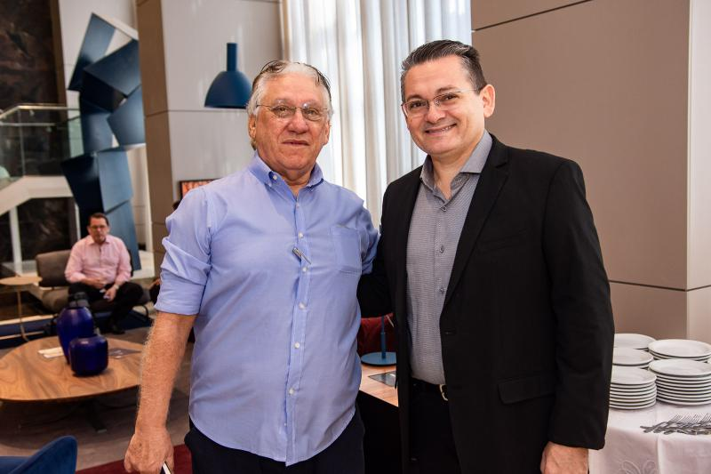 Jose Carlos Timbo e Claudio Goncalves