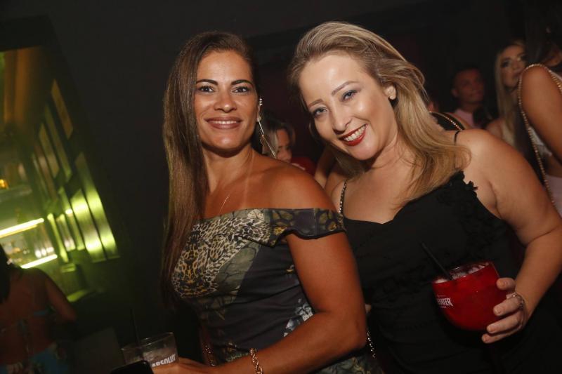 Rafaely Nunes e Cristina Montenegro